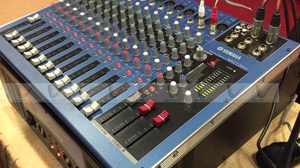 Mixer Yamaha MG 120FX với nhiều tính năng nổi bật