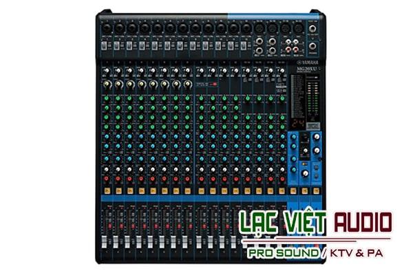 Mixer Yamaha MG20XU rẻ nhất tại Lạc Việt audio