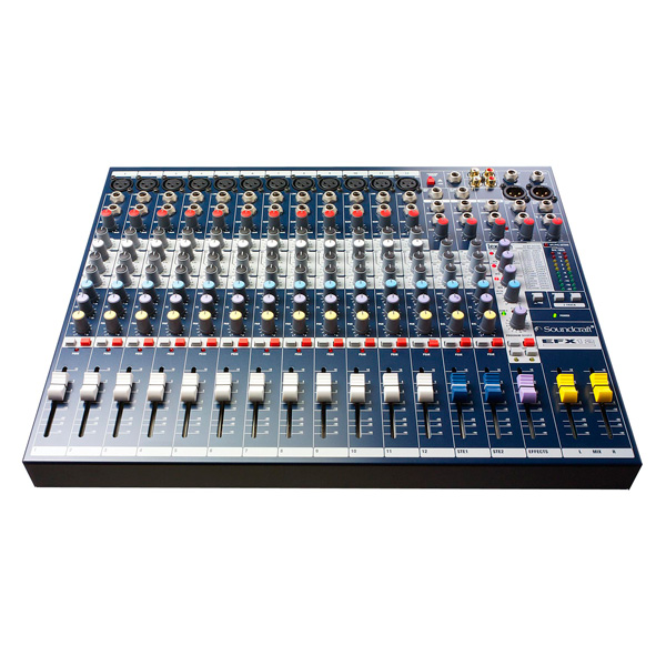 Mixer soundcraft EFX12v