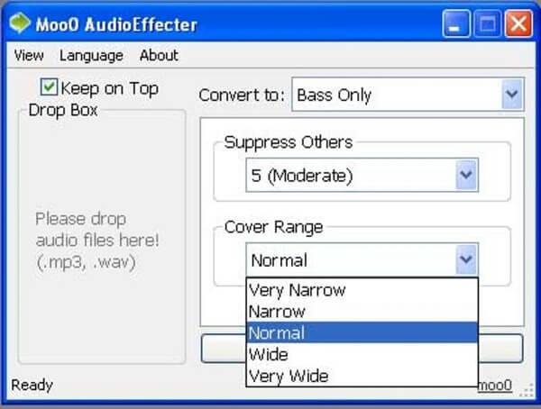 Phần mềm tăng chất lượng âm thanh Moo0 AudioEffecter