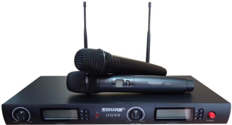 Một số lưu ý trong quá trình sử dụng micro không dây Shure