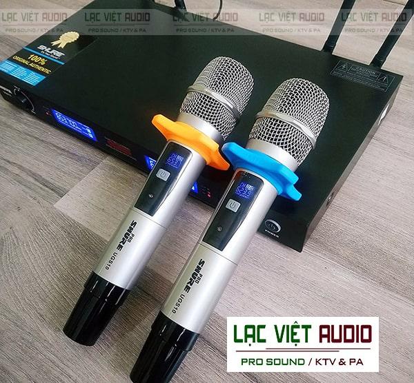Mua micro Shure UGS10 chất lượng tại Lạc Việt Audio