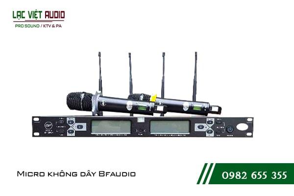 Mua các sản phẩm micro không dây BFAudio chất lượng cao giá rẻ tại Lạc Việt Audio
