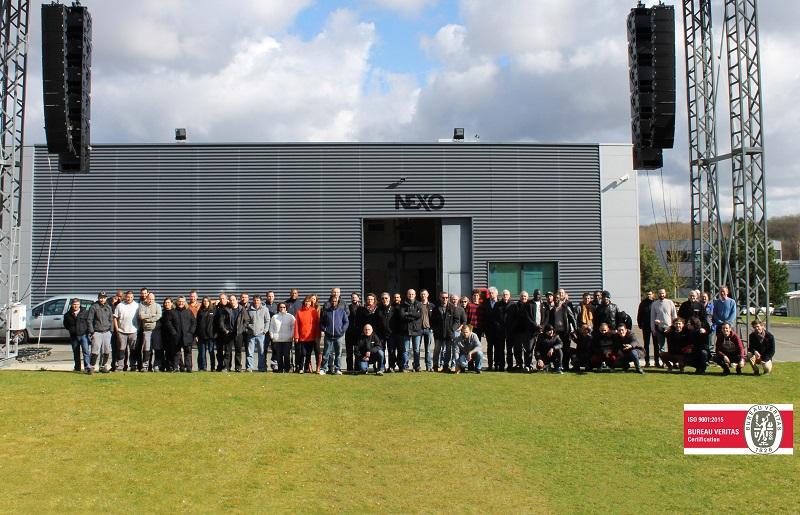 Nexo là một trong những tập đoàn âm thanh lớn nhất thế giới hiện nay