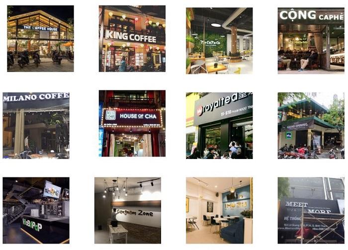 Dự án âm thanh quán cafe được Lạc Việt Audio thực hiện