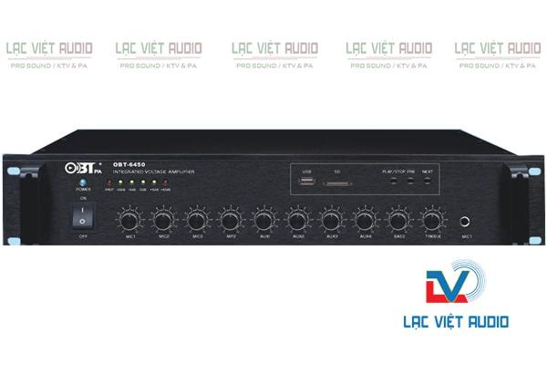 Amply OBT 6450 dùng cho loa phóng thanh