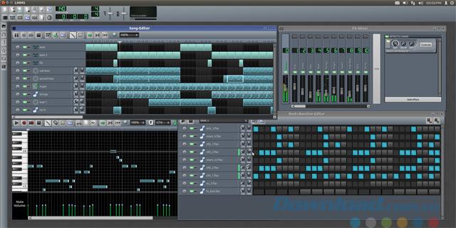 Phần mềm chỉnh sửa nhạc LMMS