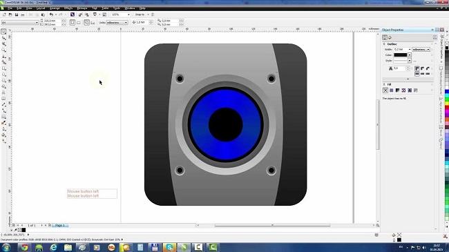 Phần mềm thiết kế thùng loa hoàn hảo nhưng khó dùng nhất CorelDraw