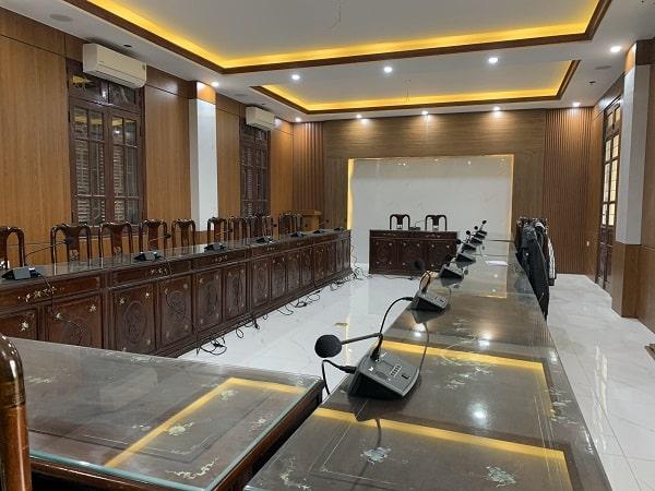 Phòng họp UBND xã Phù Chuẩn - Từ Sơn - Bắc Ninh
