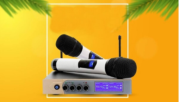 Sóng UHF trên micro không dây