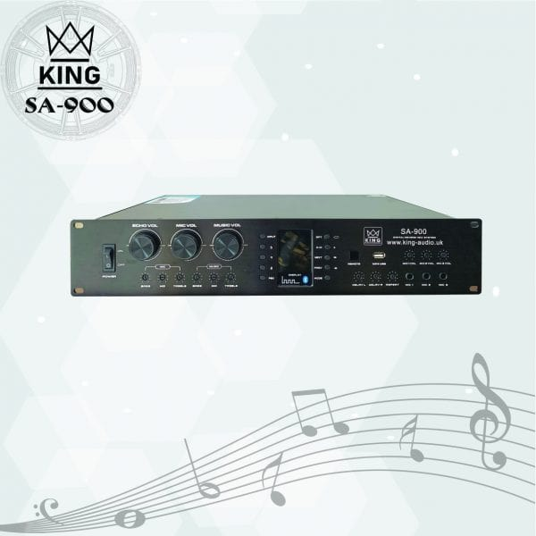Bộ amply liền mixer King SA900