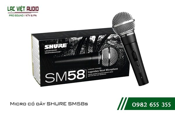 Micro có dây SHURE SM58s