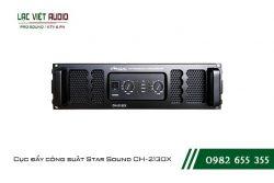Giới thiệu về sản phẩm Cục đẩy công suất Star Sound CH 2130X