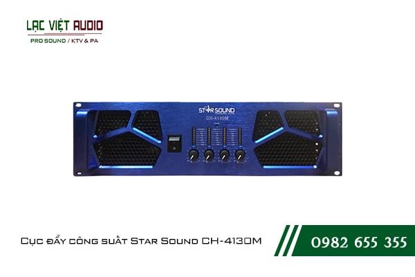 Giới thiệu về sản phẩm Cục đẩy công suất Star Sound CH 4130M