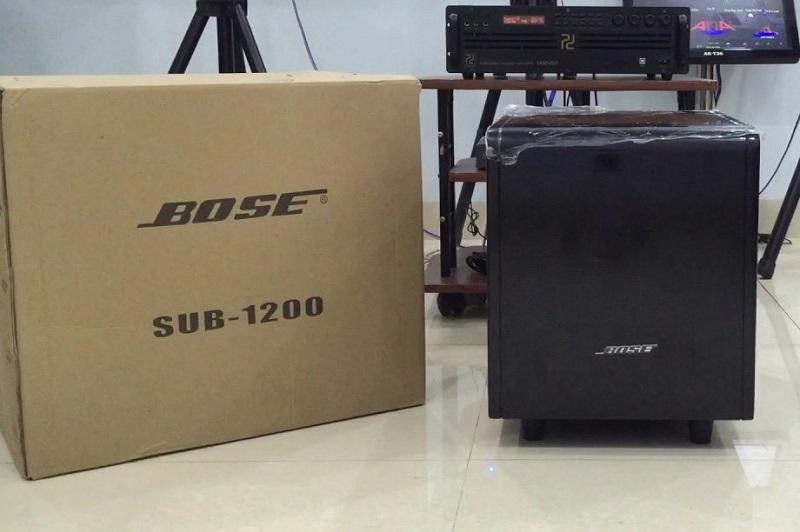 Đập hộp chiếc loa sub bose 1200 Mexico tại nhà khách hàng