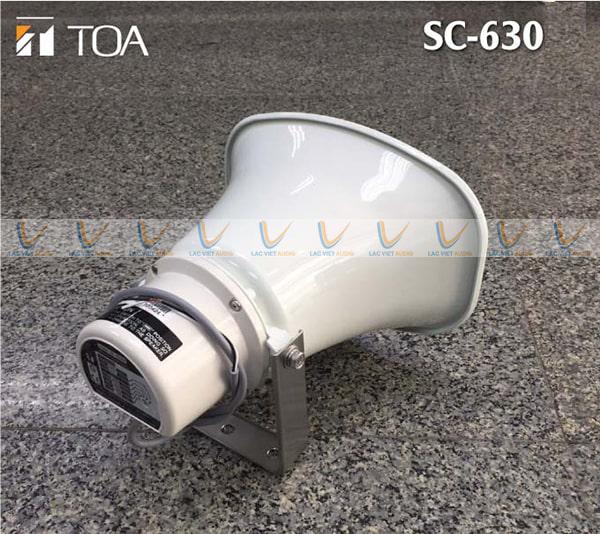 Loa nén 30W Toa SC 630 cho chất lượng âm thanh chân thực và rõ ràng