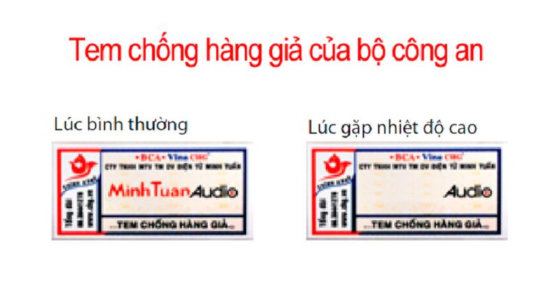 Tem nhiệt chống hàng giả của BMB xịn nhập khẩu Minh Tuấn