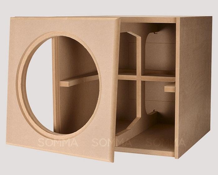 Thùng loa sub làm bằng gỗ ép