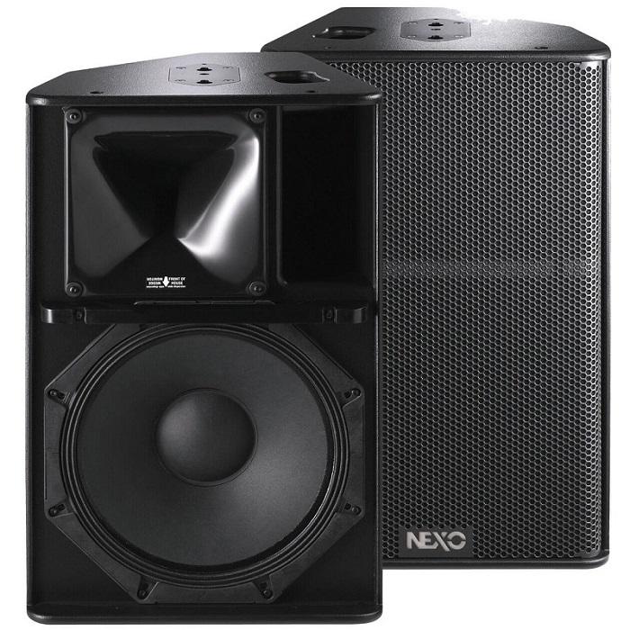 Thiết kế tinh tế, độc đáo cho ra chất âm hay của loa Nexo PS 15