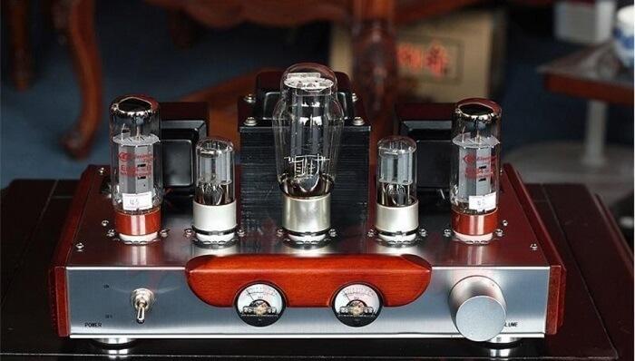 Bóng tiền khuếch đại âm tần trong ampli đèn