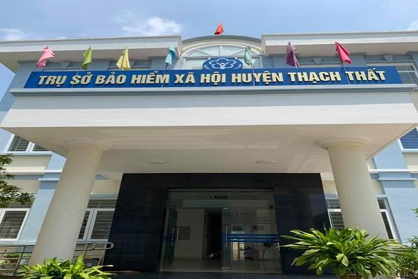 Trụ sở bảo hiểm huyện Thạch Thất
