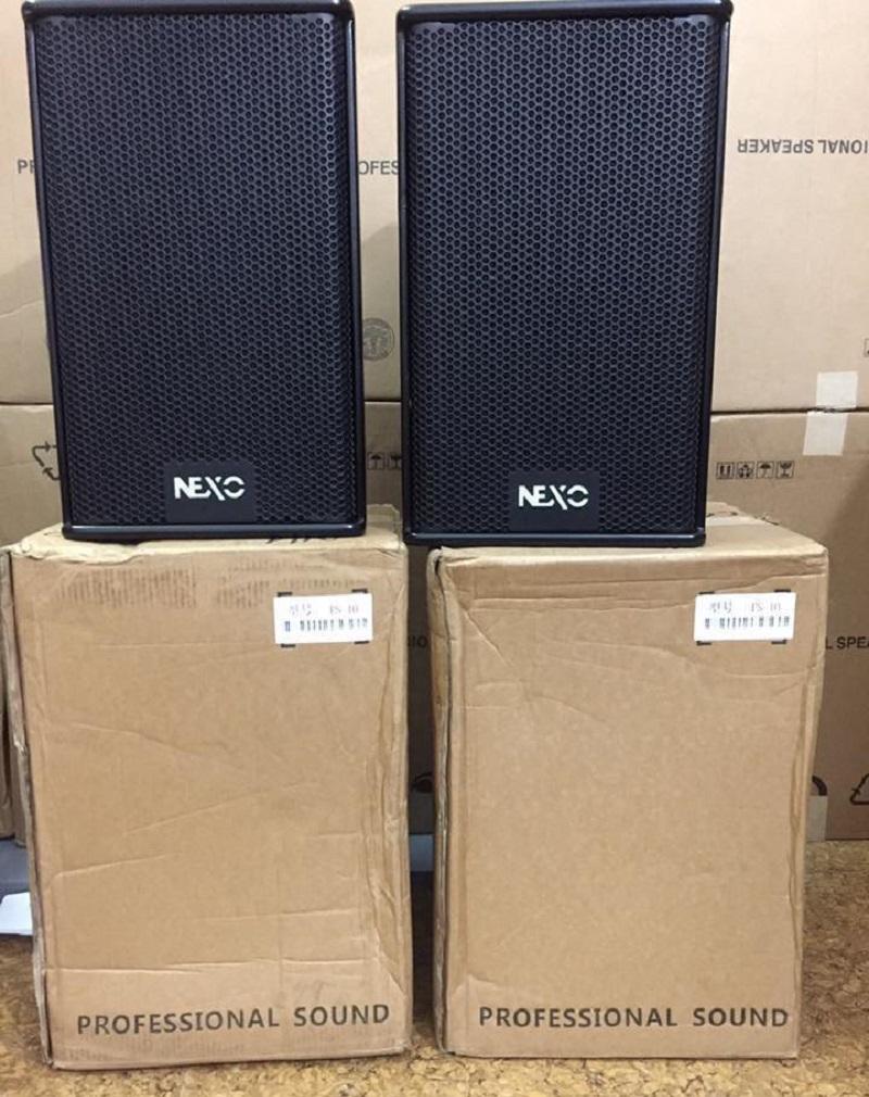 Loa Nexo PS 10 và vỏ thùng nguyên kiện nhập Trung Quốc của Lạc Việt