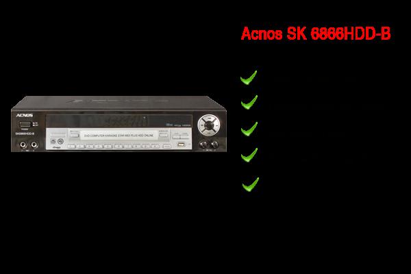 SK 8666HDD