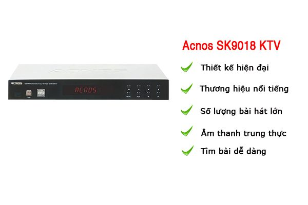 acnos ks9018 KTV