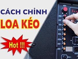Cách chỉnh bảng âm thanh karaoke chuẩn cho thùng loa kẹo kéo