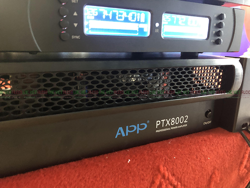 Cục đẩy công suất APP PTX8002