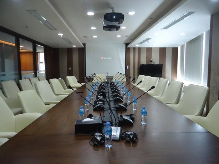 Phòng họp Trường Đại Học Giao Thông Vận Tải