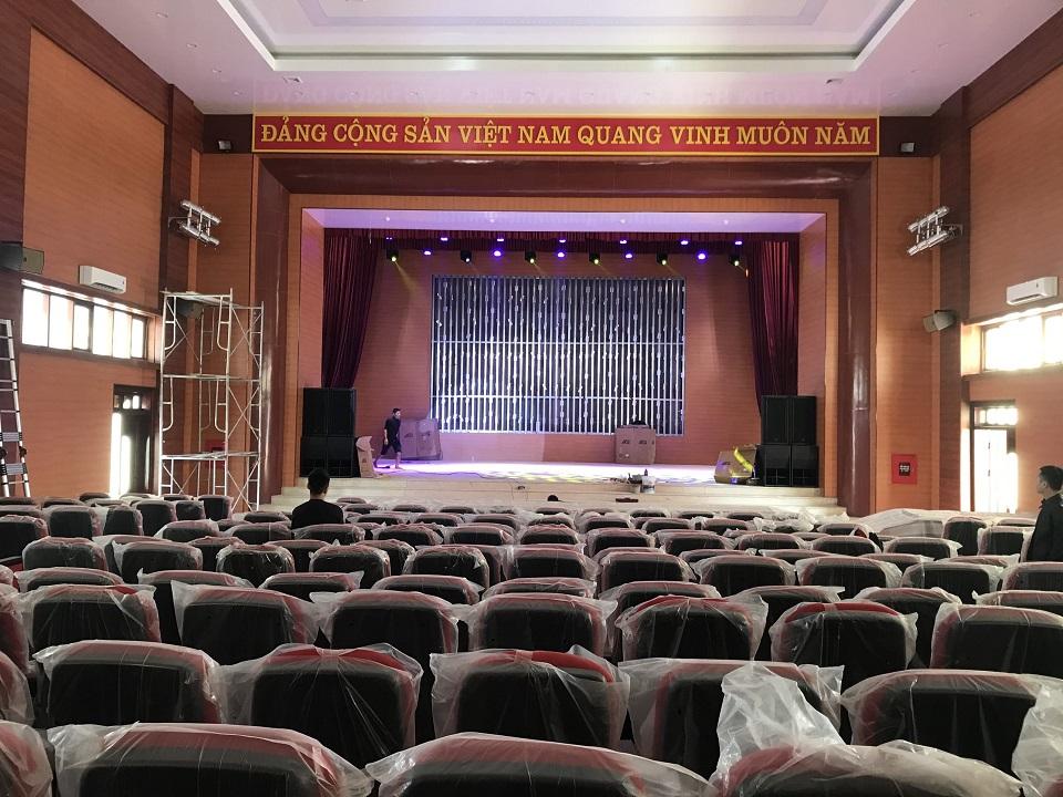Hệ thống âm thanh hội trường cho ủy ban huyện Điện Biên - Tỉnh Điện Biên