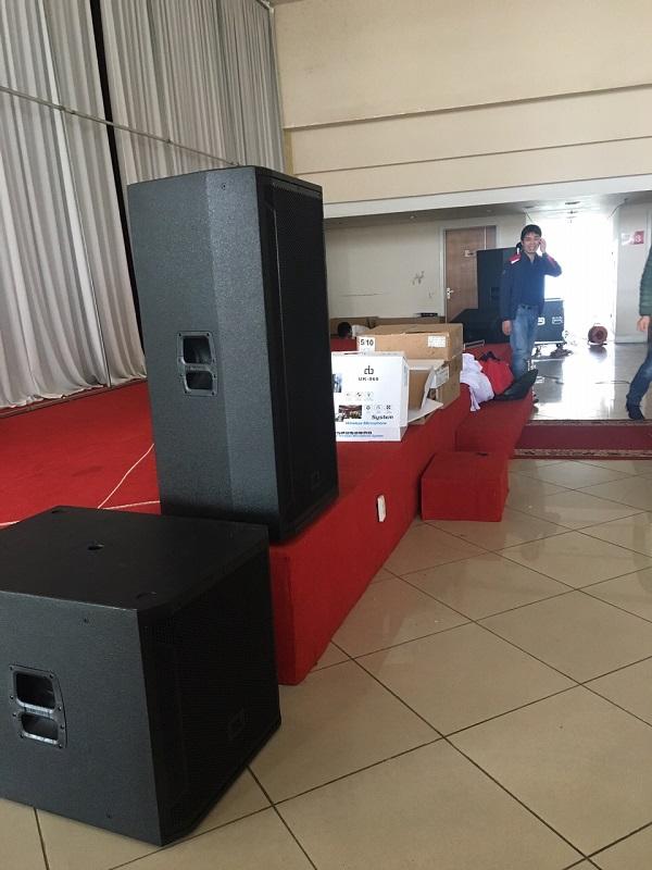 Dự án âm thanh hội trường tiệc cưới
