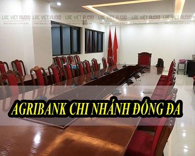 Dự án Âm thanh phòng họp cho ngân hàng Agribank Đống Đa