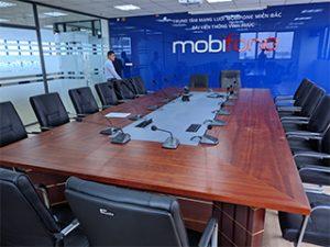 Dự án âm thanh phòng họp Trung tâm viễn thông Mobifone- Đài viễn thông Vĩnh Phúc