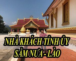 Dự án âm thanh phòng họp cho nhà khách tỉnh Sầm Nưa – Lào