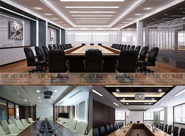 Hệ thống thiết bị âm thanh OBT 3000 được ứng dụng lắp đặt phổ biến cho các phòng họp