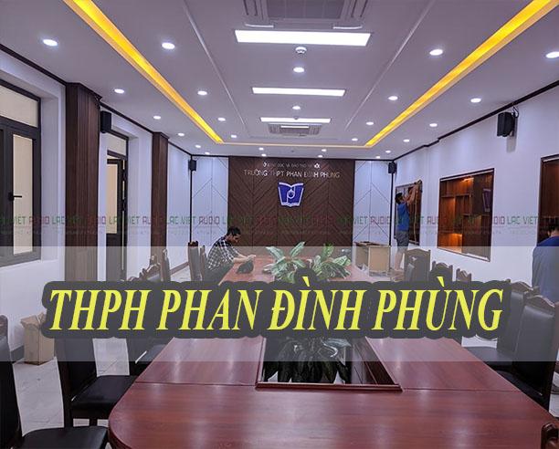Trường THPT Phan Đình Phùng
