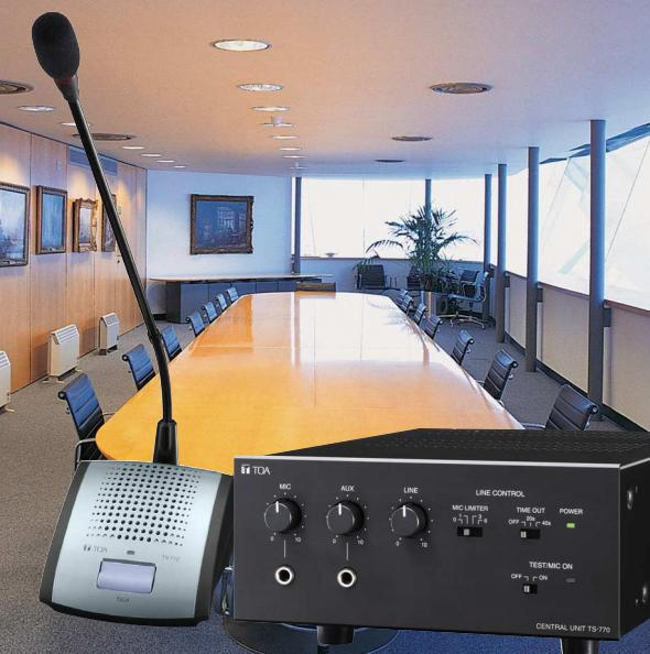 Giải pháp âm thanh phòng họp TOA