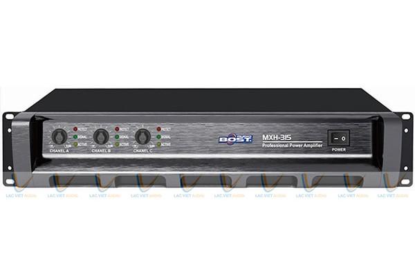 Cục đẩy công suất Bost Audio MH-315