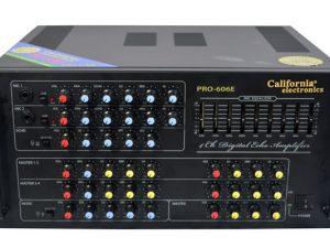 Ampli karaoke california pro 606E