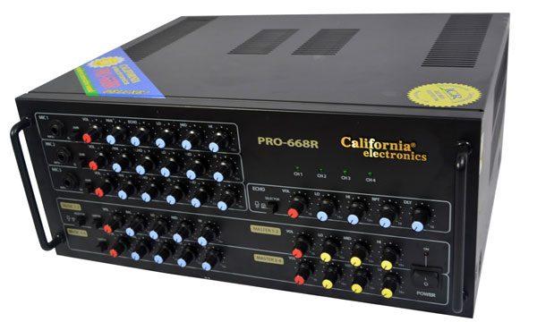 Ampli karaoke california PRO 668R