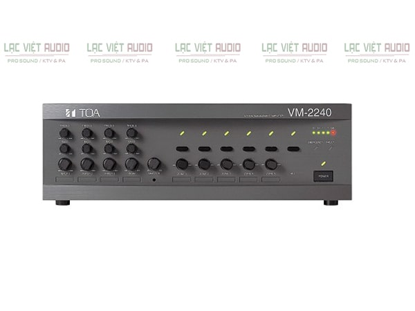 Amply TOA VM-2240 Chia 5 Vùng dùng cho loa nén