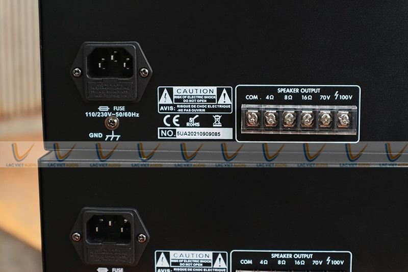 Asima AX-500R có khả năng xử lý tín hiệu cực tốt