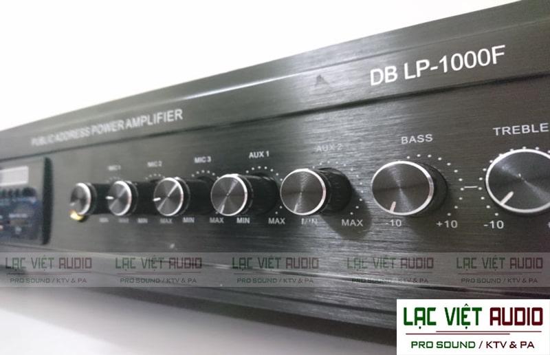 Amply DB có chức năng khuếch đại tín hiệu cho bộ dàn chủ yếu dùng trong âm thanh thông báo