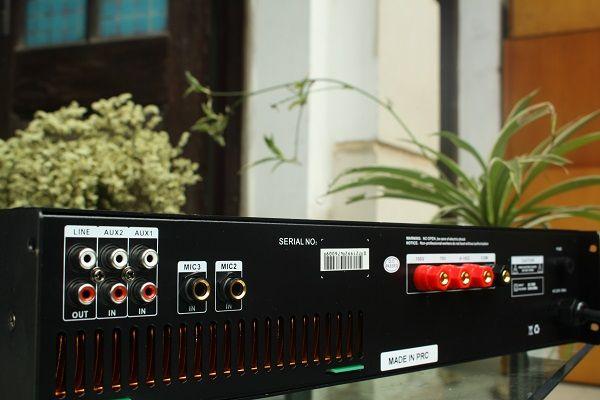 Sản phẩm amply DB LP-480F là sản phẩm chính hãng nhập khẩu nguyên chiếc