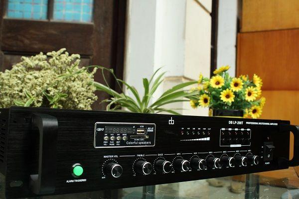 Amply DB LP-100T chia 5 vùng công suất 100W