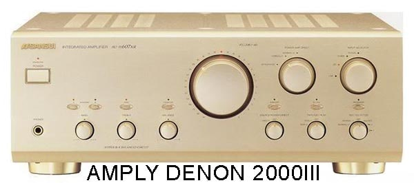 Amply Dnon 2000III được sản xuất năm nào