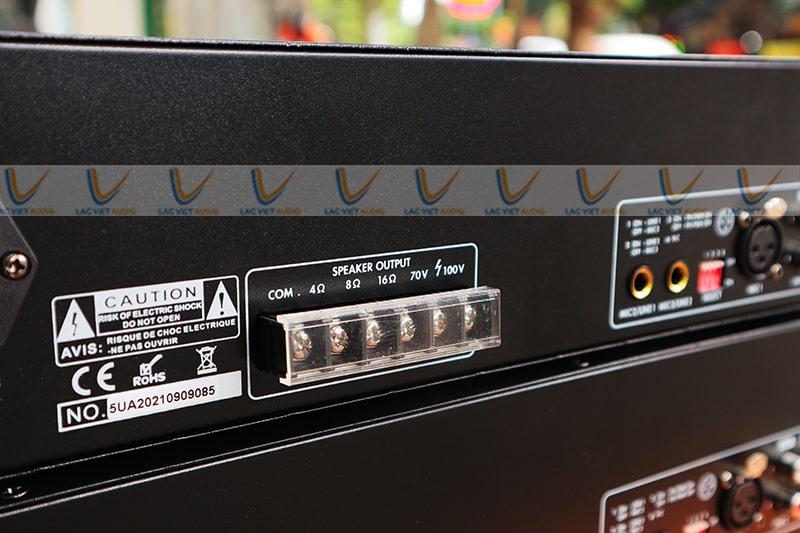 Amply hội thảo Asima AX-240R có khả năng tương thích cực cao