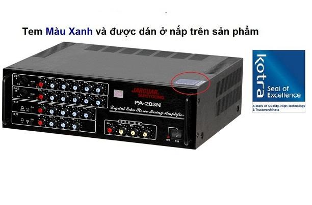 Amply Jarguar 203N Việt Nam